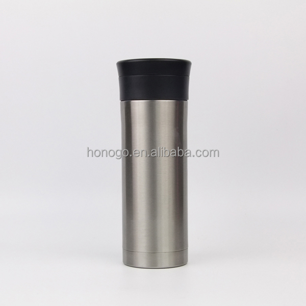 400ML Stainless Steel Vacuum Office Tea Cup With Tea Filter