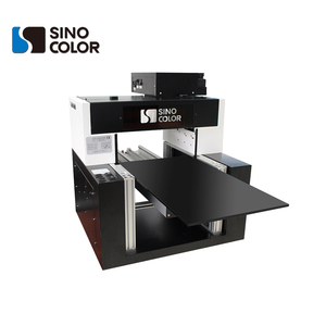 SinoColor go ahead and you can rely on us a4 led uv flatbed printer UV-300