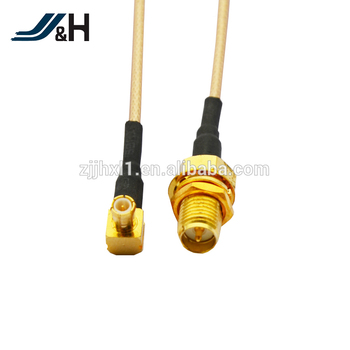 High Quality SMA Male To TNC Female Right Angle RG178 RG316 Jumper Cable