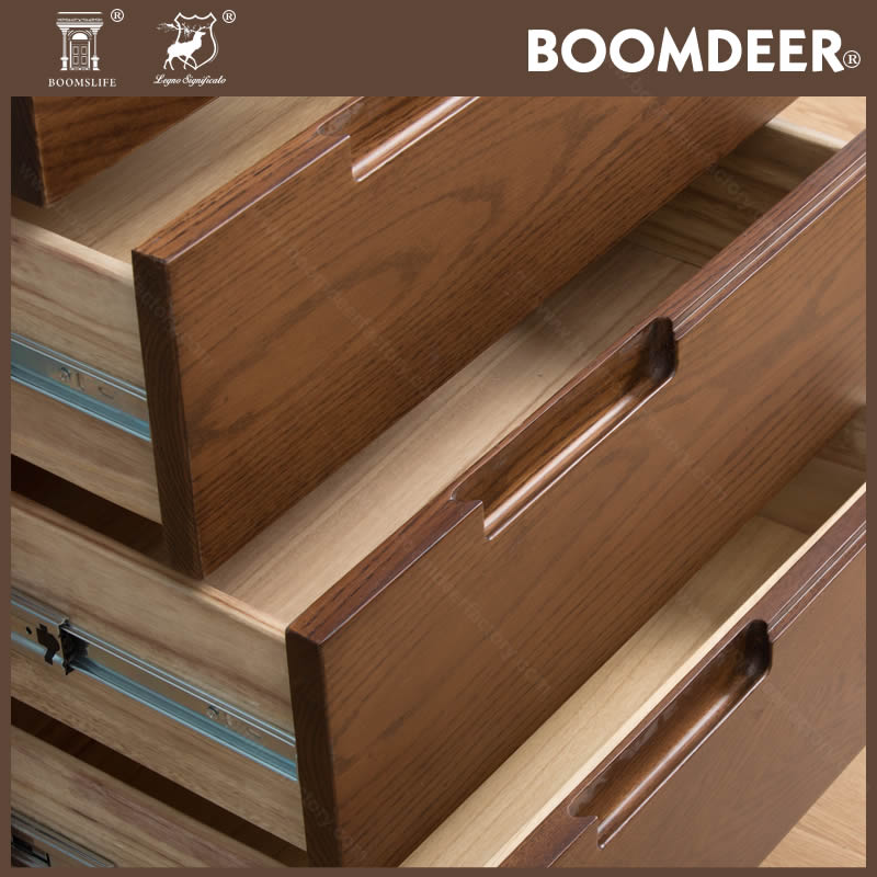 product-BoomDear Wood-6 Drawer File Cabinet Living Room Solid Wood Furniture Storage Cabinet Office -5
