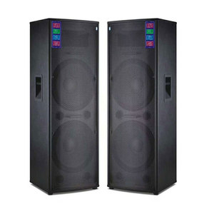 Big power dj bass speakers active professional outdoor stage pair Speaker With USB/SD/FM/bluetooth/microphone