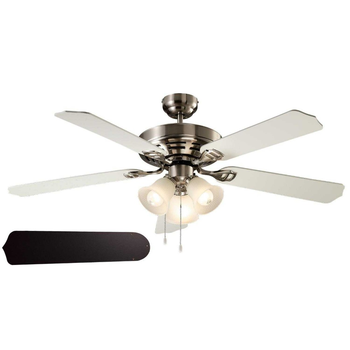 52 Inch 60 W 4 Mdf Blades Retro Plafond Ventilator Met Verlichting ...