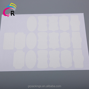 factory oem supplier integrated labels a4 paper suffocation warning silicone adhesive stickers