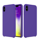 Silky And Soft Touch Liquid Silicone Cell Phone Case For Iphone Xs