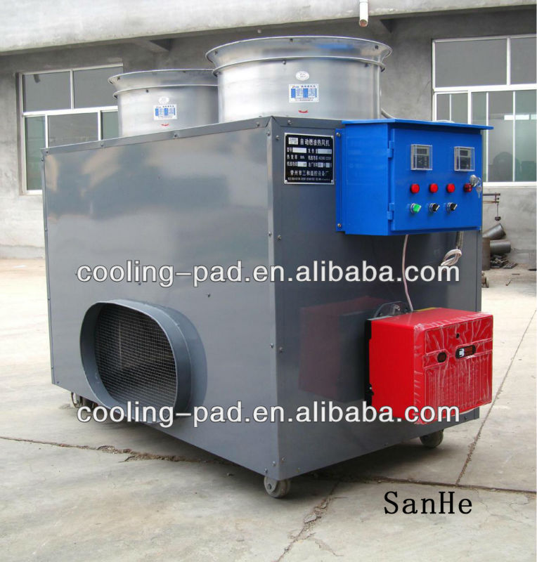 Auto Fuel Oil heater used in poultry/greenhouse
