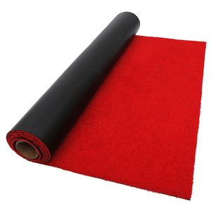 Event used red color large plastic floor mat bangladesh for stairs