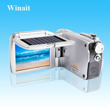 Winait's Solaris battery charger ,digital camcorder