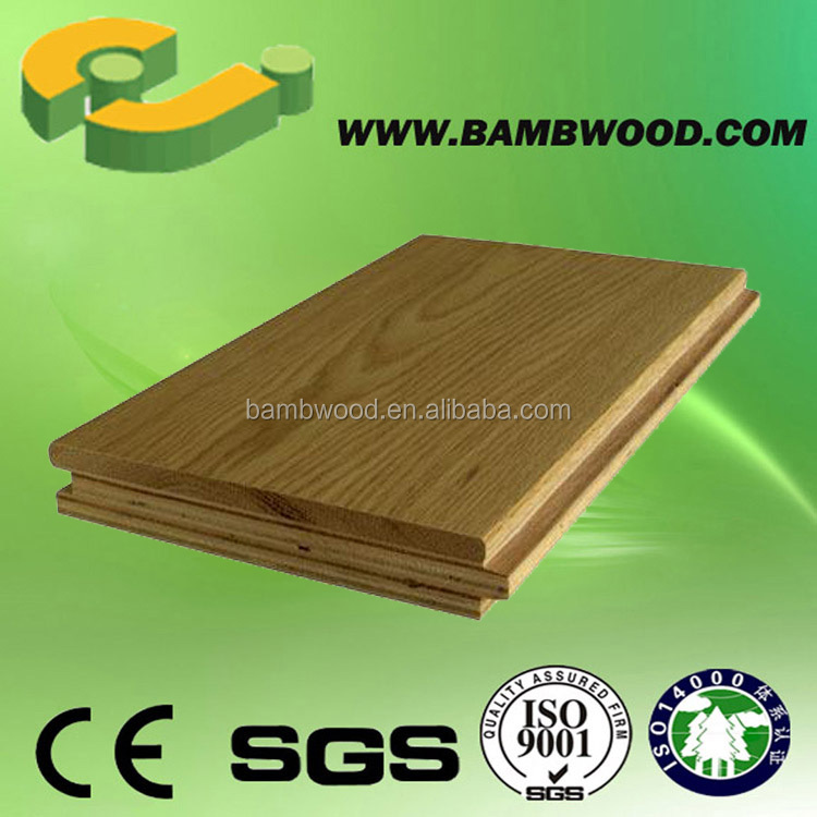 Practical Engineered unfinished walnut wood flooring Suitable