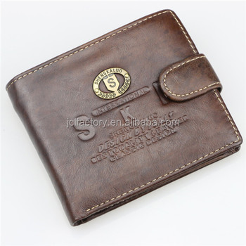 b66d2bf91bce Genuine Cowhide Leather Human Leather Wallet - Buy Human ...