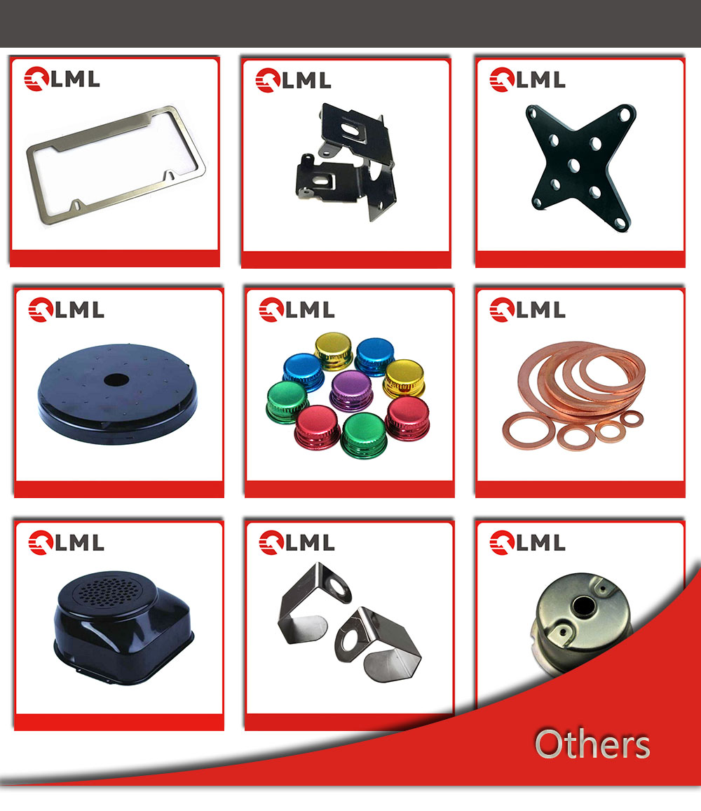 6061 Aluminium Metal Stamped Parts, Cold Stamping Steel Sheet Parts, Metal Brass Copper Die Stamping Parts