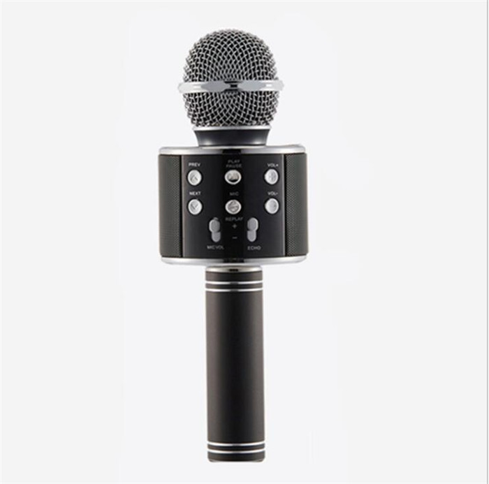 Factory price bluetooth microphone stand karaoke for meeting teaching having fun ws-858