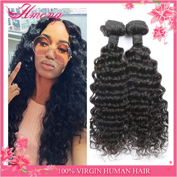 indian human hair importers double weft human hair extensions deep wave human hair for braiding