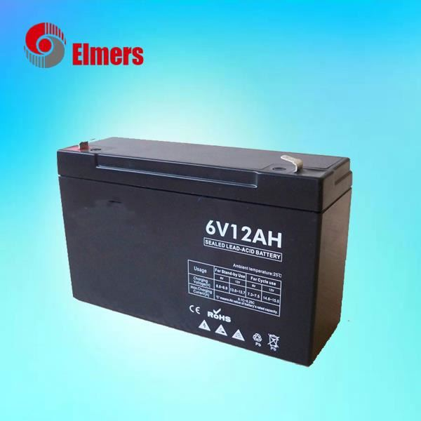 Huzhou Excellent quality 6v12ah MF battery