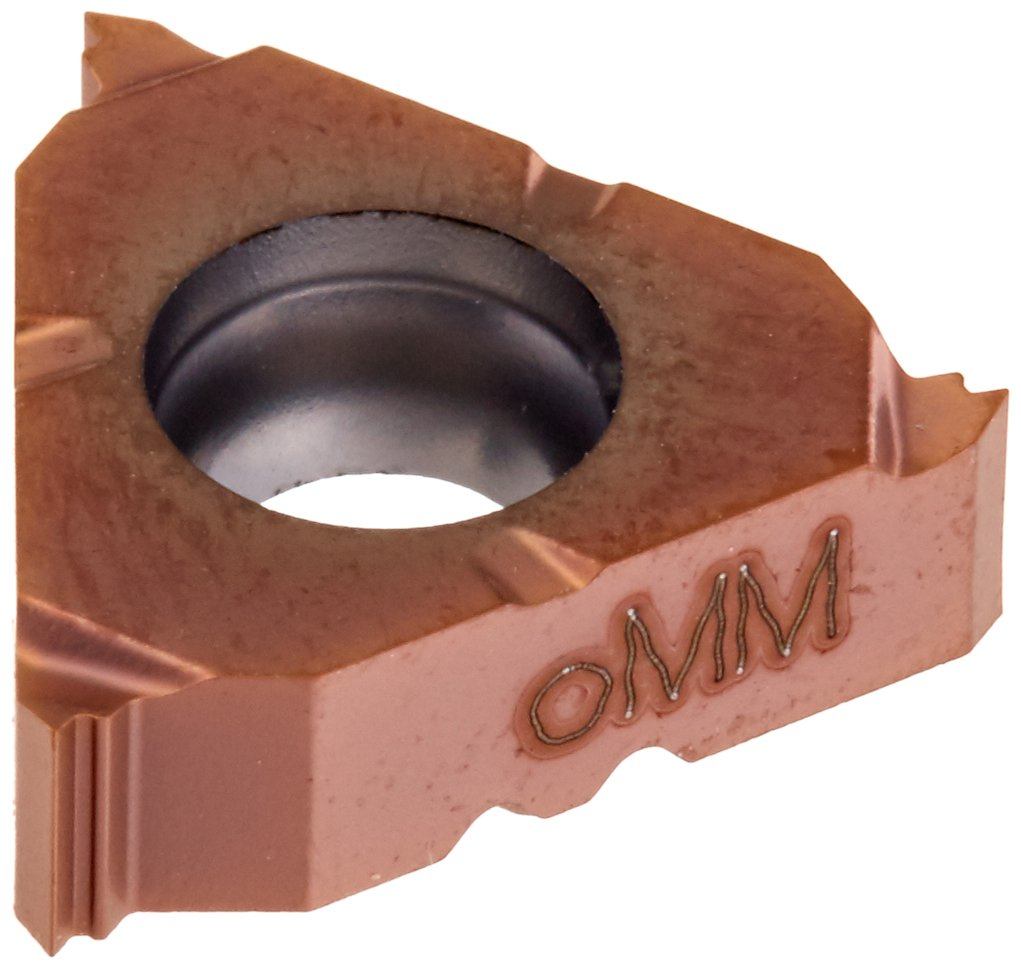 Sandvik Coromant 266RG-16NT01C115M 1125 PVD Coated Solid Carbide CoroThread 266 Threading Insert 11.5 NPT Thread