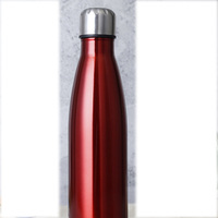 2017 New Design Double Wall Stainless Steel Vacuum Flask,17oz 500ml with custom logo