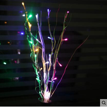 25leds willow branches led lights series led string light - String lights living room ...