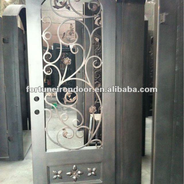 Wrought iron door designs fsc certified wood made in China factory & fsc certified wood doors-Source quality fsc certified wood doors ... pezcame.com