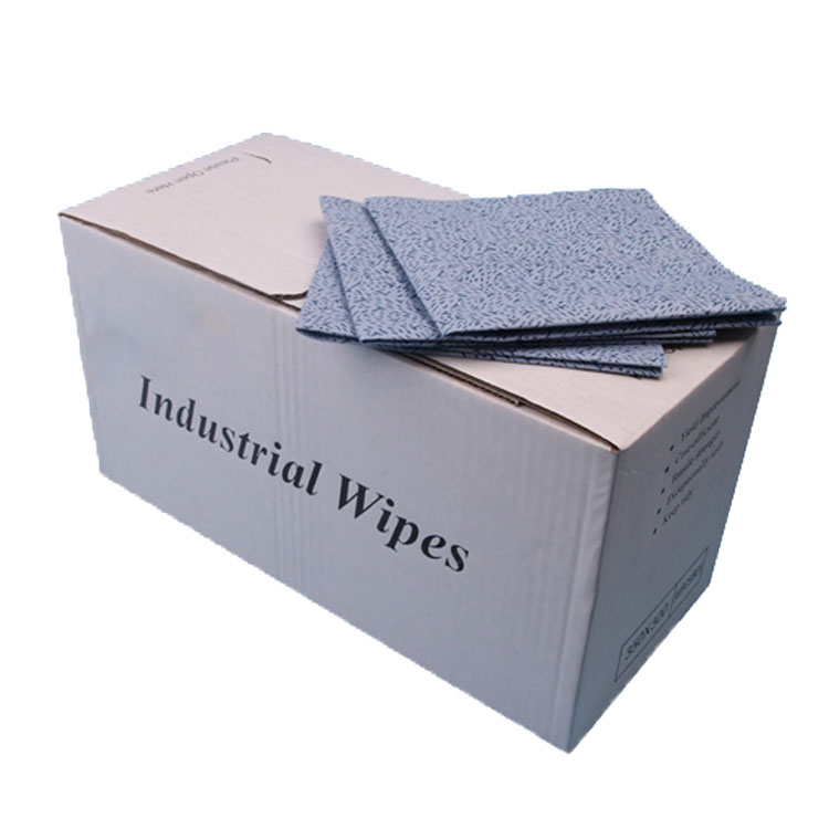 Heavy oil absorbent meltbown nonwoven wipes for auto cleaning