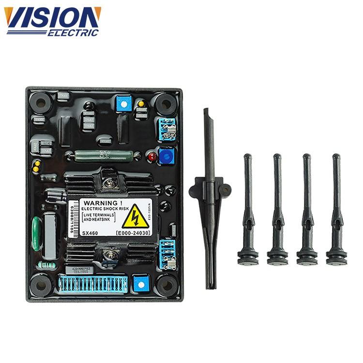 genset avr circuit diagram 3 phase automatic voltage regulator avr sx460  for ac brushless generator