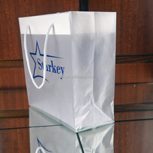 custom logo plastic shopping bags wholesale With cardboard