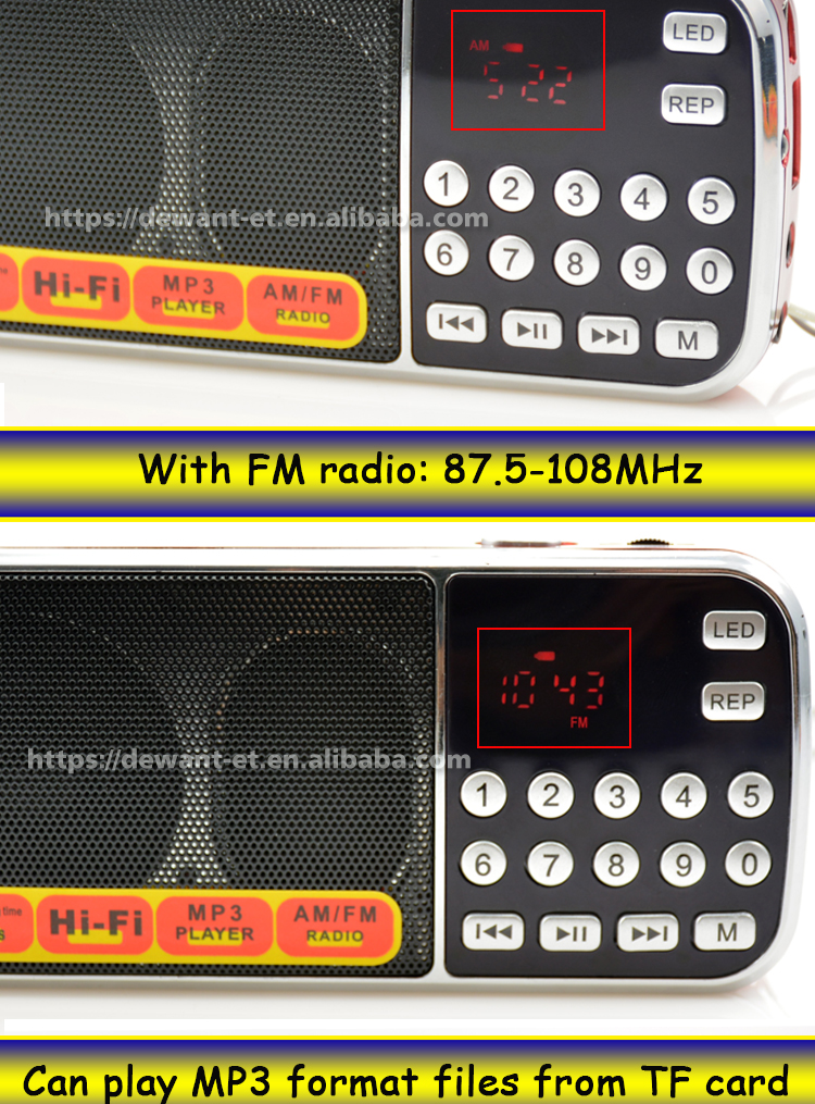 L-088AM fm & am rádio,-am fm 2 banda radio receiver