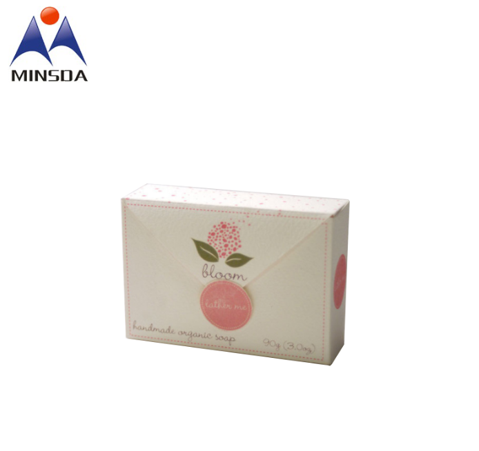 Custom logo Soap Box Packing Printing Recyclable Paper Box