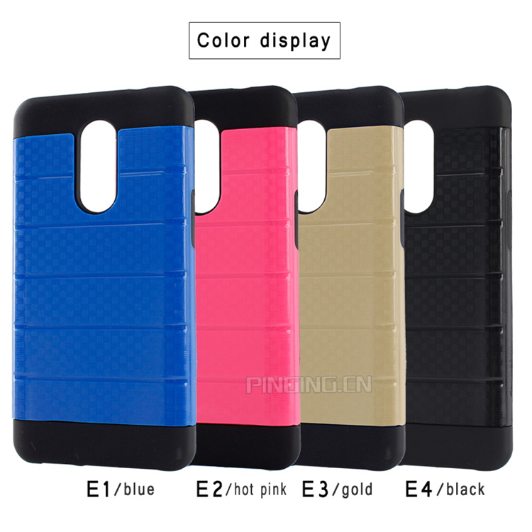 2 in 1 PC TPU Hybrid Shockproof Armor Phone Case for Infinix Note 4 X572
