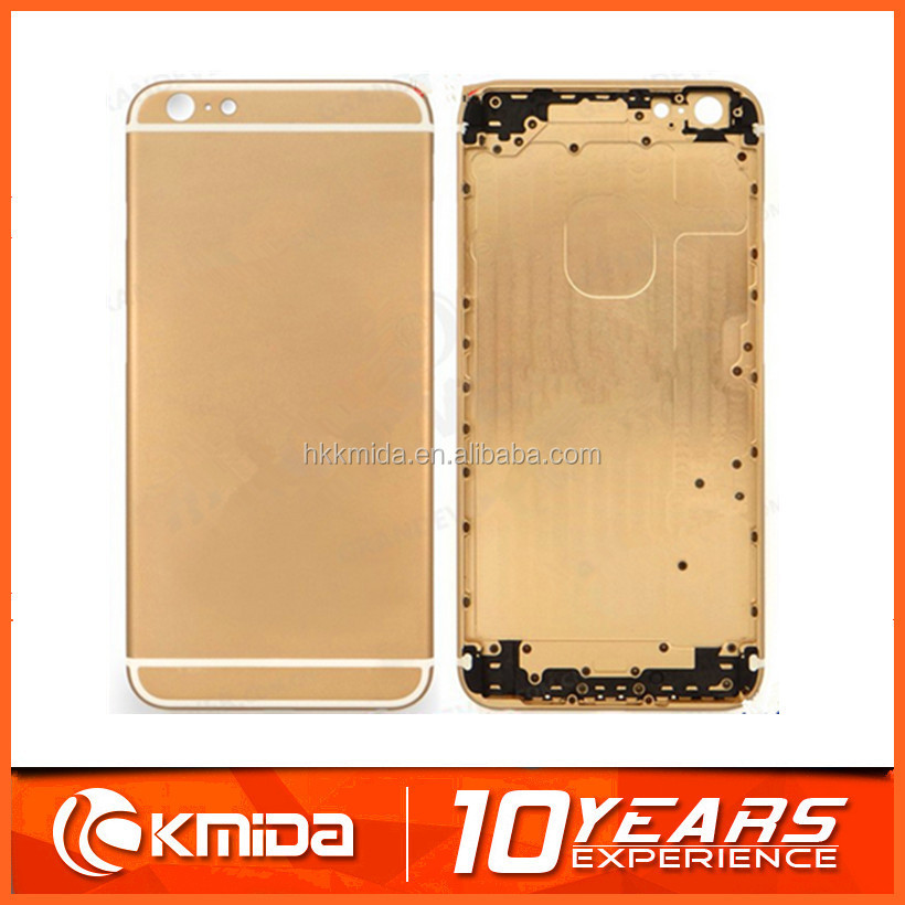 Wholesale 18k 24k gold plated for iphone 6 6 plus housing back cover housing