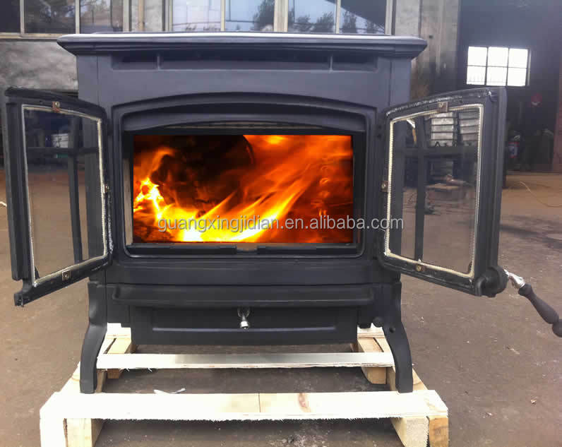 high energy 24 kw cast iron wood stove parts,cast iron pellet stove