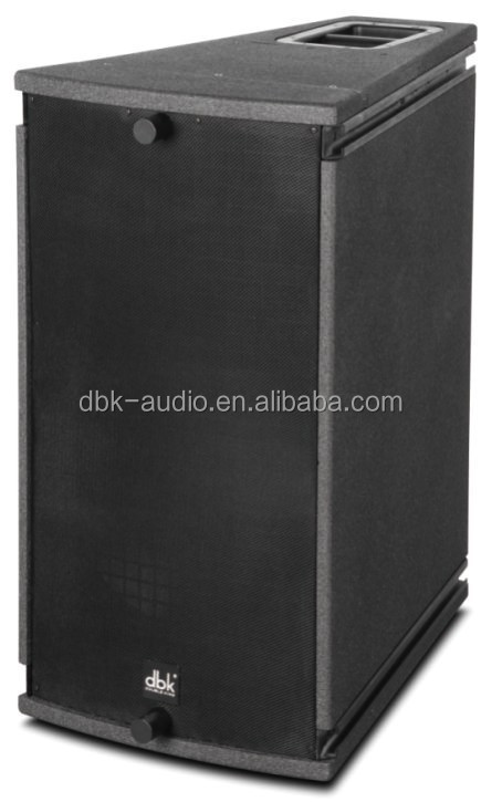 Strong power output long throw professional line array speaker(AS-115)