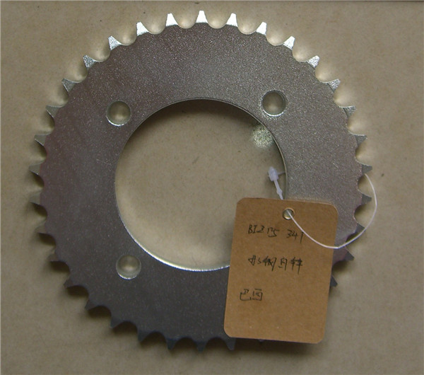 OEM China manufacture wholesale BIZ 125 motorcycle chain sprocket set