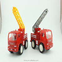 Kids Educational fire engine toys plastic fire engine truck