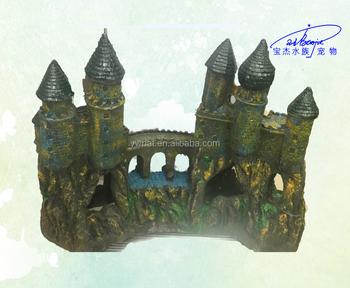 aquarium accessories resin coral decorationresin castle of aquarium decoration or aquarium ornament view larger image