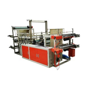 SSJX-A two Layer eco friendly bio plastic shopping bag making machine price