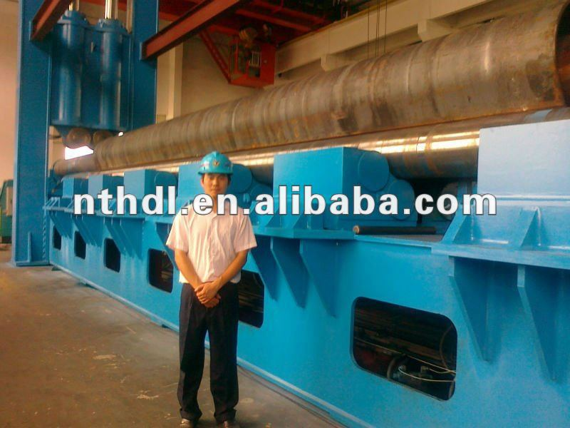 W11S with three roller how steel tube rolling machine is powered