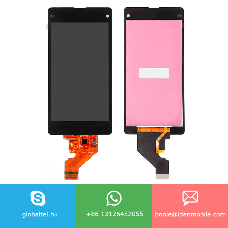 4.3 inch LCD Dispaly Touch Screen Digitizer Assembly for SONY Xperia Z1 Mini Compact D5503