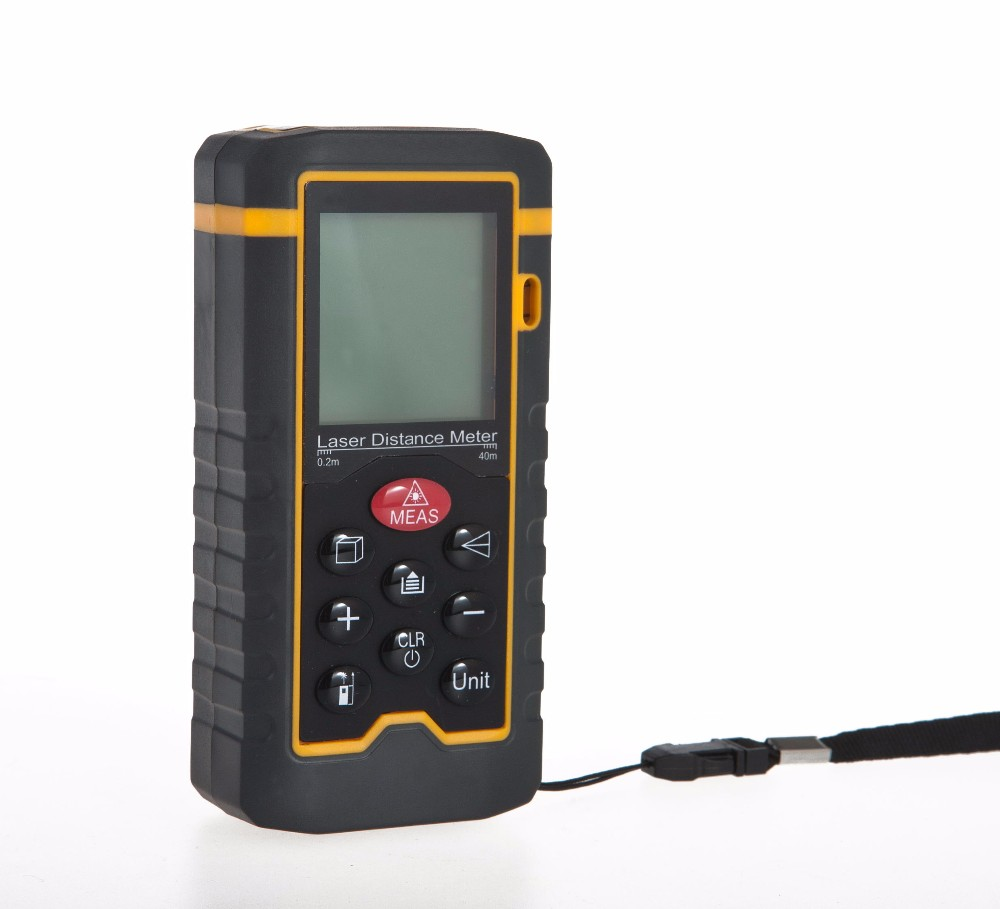 New arrival laser 40m laser measuring distance meter suppliers OEM