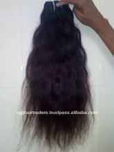 Top Grade Indian Temple Raw Unprocessed Virgin Human Hair