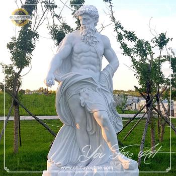 Classical Life Size Greek Garden Poseidon Statues