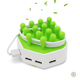 2018 Trending Products phone dock charger 4 Port multi device docking charging station with smartic for mobile phone