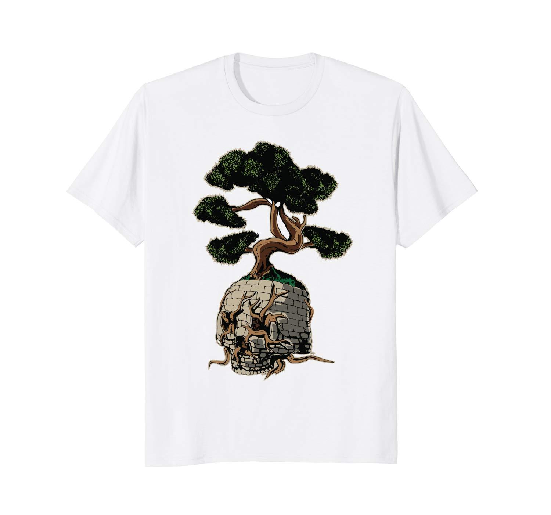 Mens Bonsai Tree Zen Short Sleeves Polo Shirts