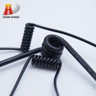 Customized cable PUR insulated flexible wire telephone spiral cable