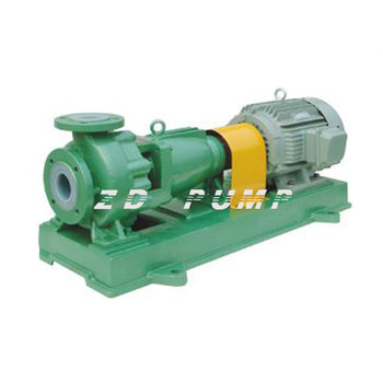 IHF anti corrosion resistant PTFE plastic lined sodium acid chemical pump