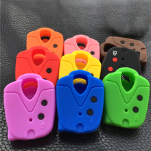 Car Accessaries Key Cover Case Shell Silicone Rubber For PROTON L3 L5