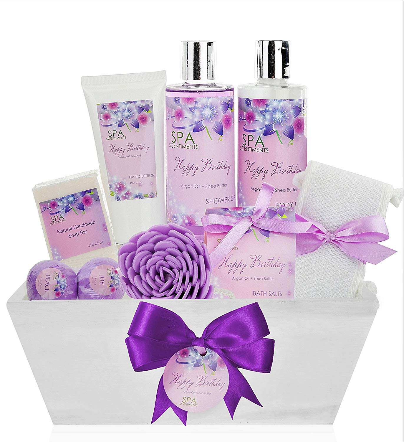 Birthday Gift Basket Spa Kit