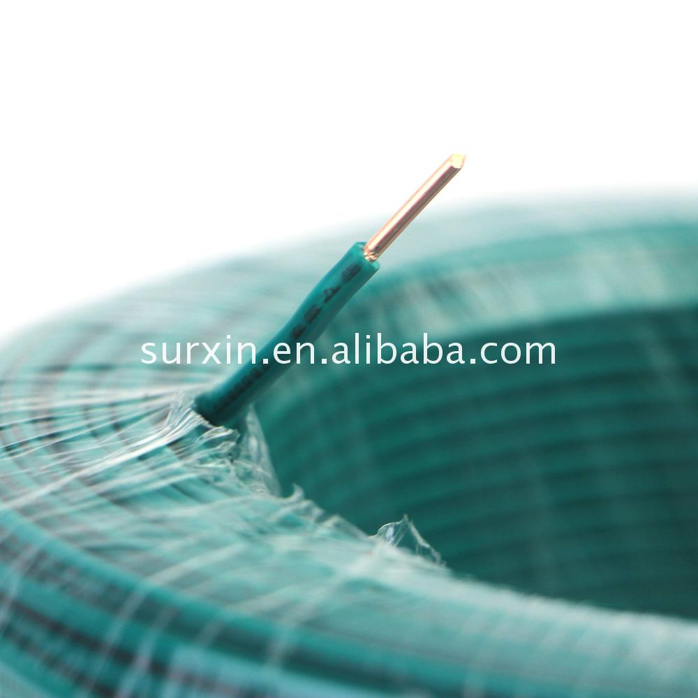 Pvc Insulated One Core Copper Wire Electrical Wirepvc Coated Electric Wire7 Stranded Suppliers And Manufacturers At
