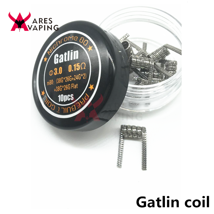 Good Quality Nichrome Ni80 Wire Torch Hoffa Staggered Fused Clapton ...