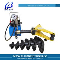 HAOBAO 2Inch Automatic Raw Material Pipe Bending Machine DYW-2