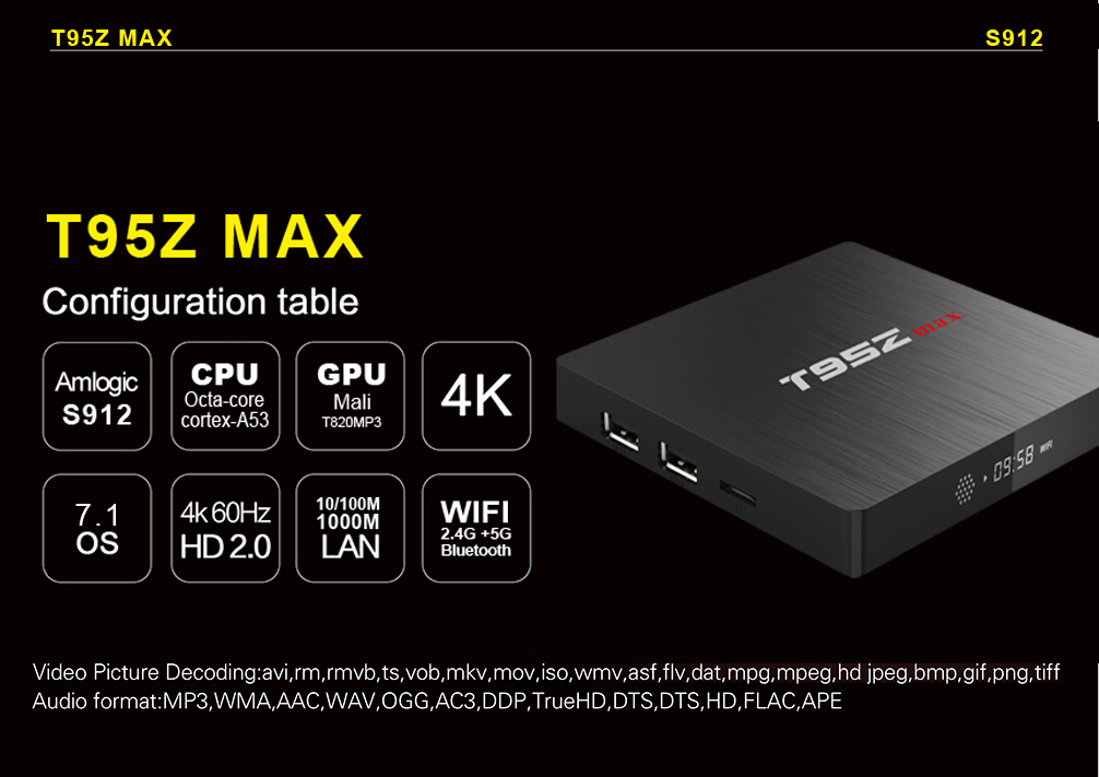 Excel Digital For Nepal The Latest Smart Android Tv Box T95z Max 3gb 32gb,  OEM/ODM supported, View High Quality Smart Android Tv Box, Excel Digital