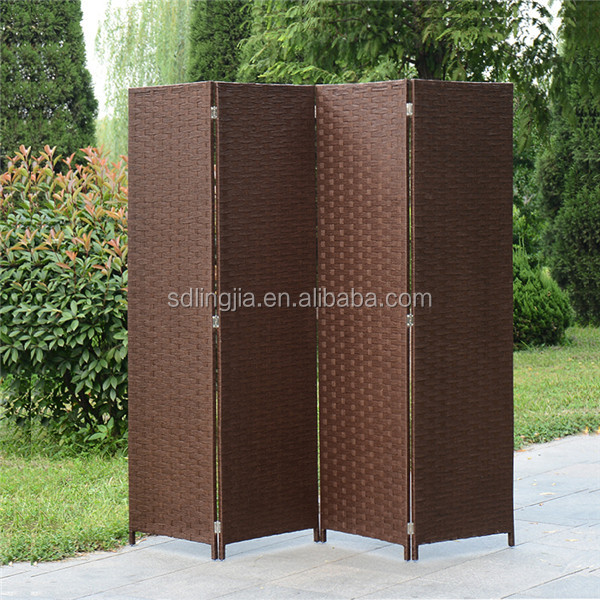 Screen Room Divider Wood Hanging Dividing Rooms In Wickers
